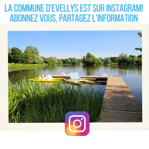 La commune d'Evellys est sur Instagram!